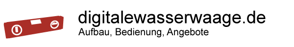 logo Digitale Wasserwaage
